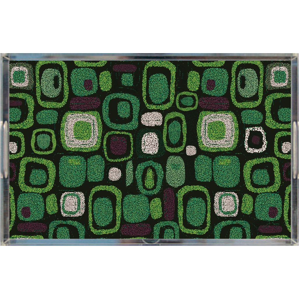 Acrylic tray - Pop Green