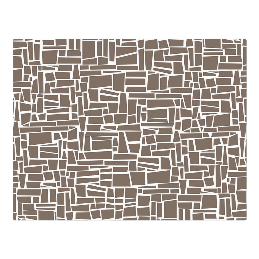 Traditional brown wall - woven placemat
