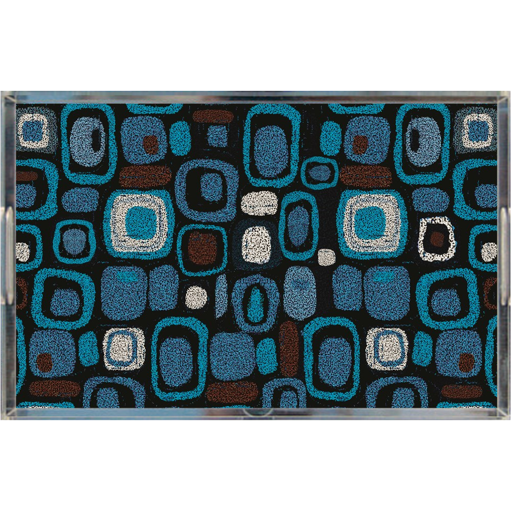 Acrylic tray - Pop Blue