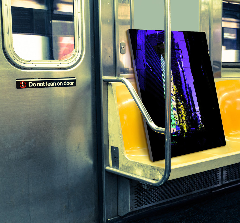 42nd Str. - New York's most intense street in digital art, wall art, canvas wrap, ready to hang
