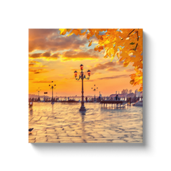 Sunset in Venice - canvas wrap