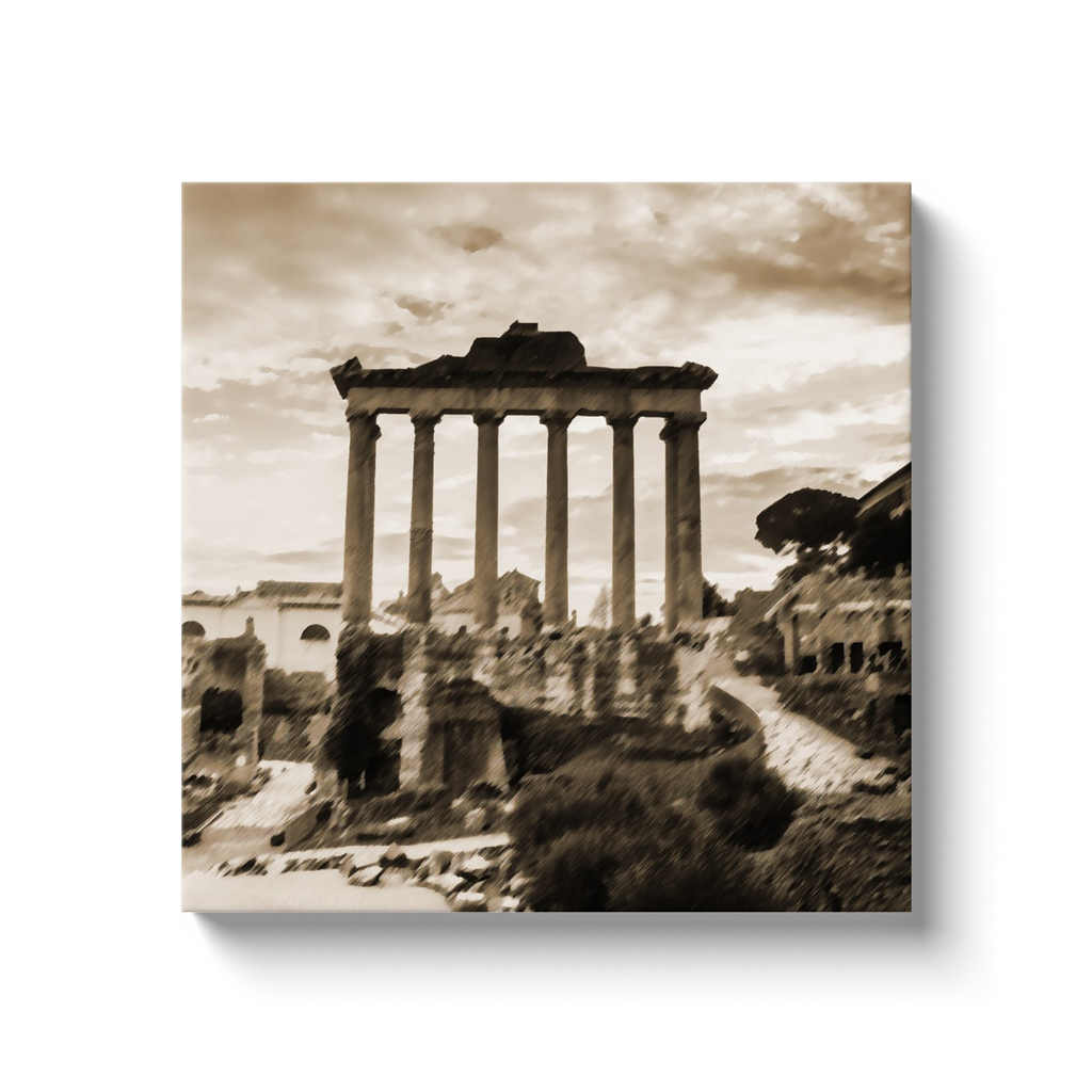 Ancient Rome - canvas wrap