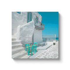 White Isternia - Tinos, Greece - canvas wrap