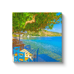 Colors by the sea - canvas wrap
