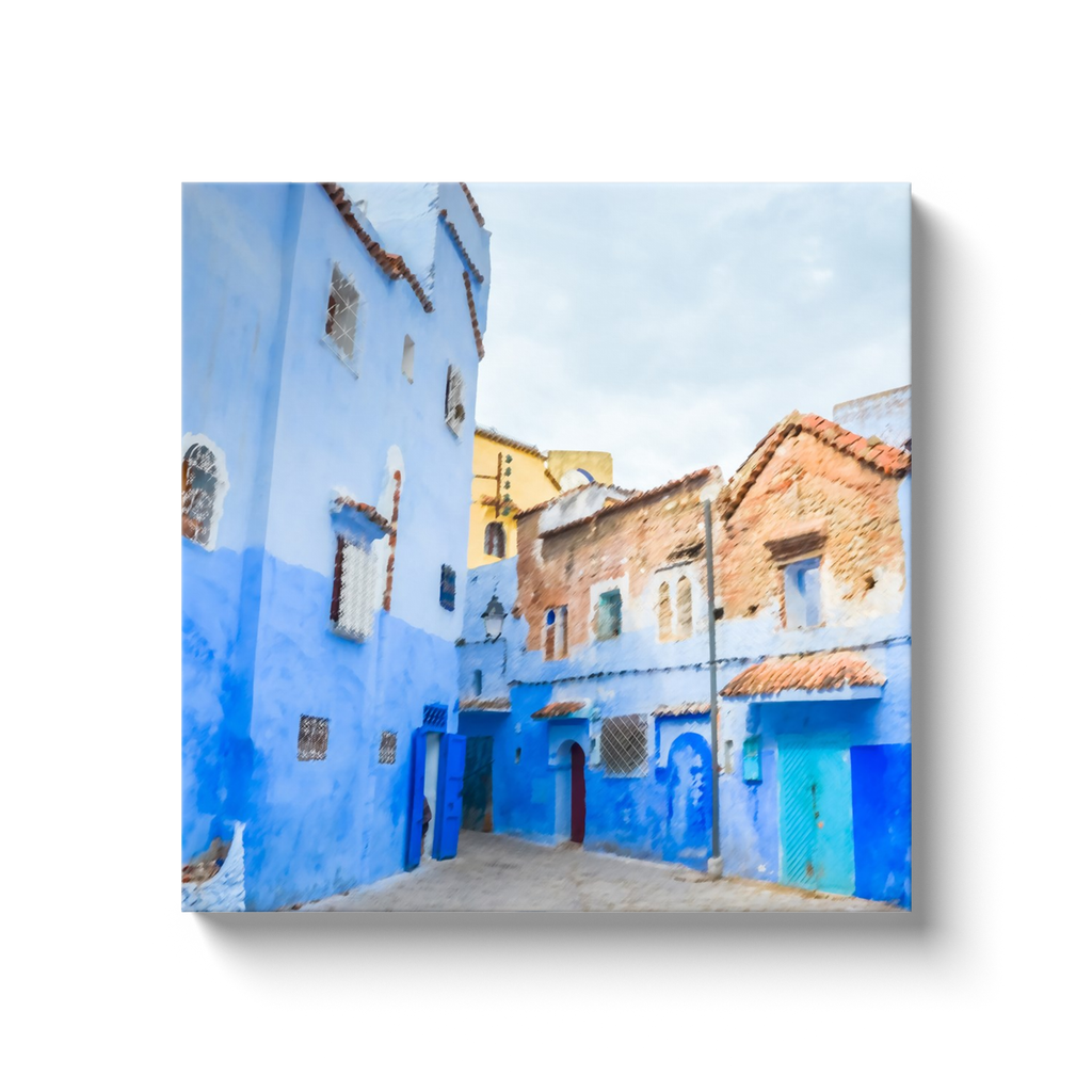 Old beauty - Morocco - canvas wrap