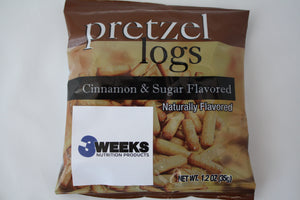 Pretzel Logs- Cinnamon & Sugar
