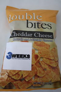 Double Bites- Cheddar Cheese 1.1oz