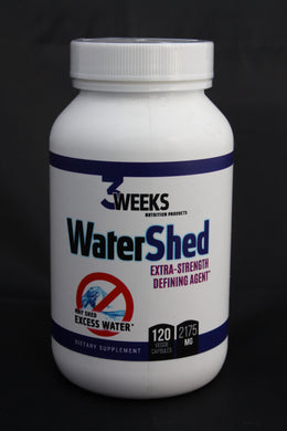 Water Shed 120ct Veggie Capsules
