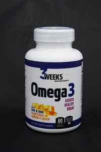 Omega 3 - Pure Fish Oil 60ct Soft Gels