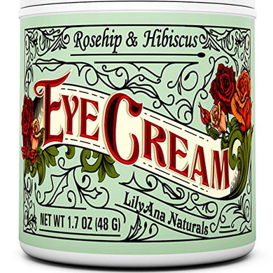 Eye Cream Moisturizer (1.7 oz) Natural Anti Aging Skin Care