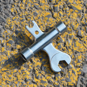 Chromoly Skateboard Wrench and Socket All-In-One Tool