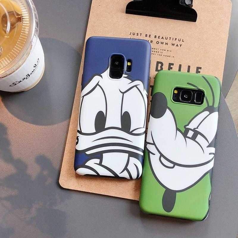 Goofy And Donald Case For Samsung Galaxy S8/S9/Note8/Note9 - Pink Panda Store
