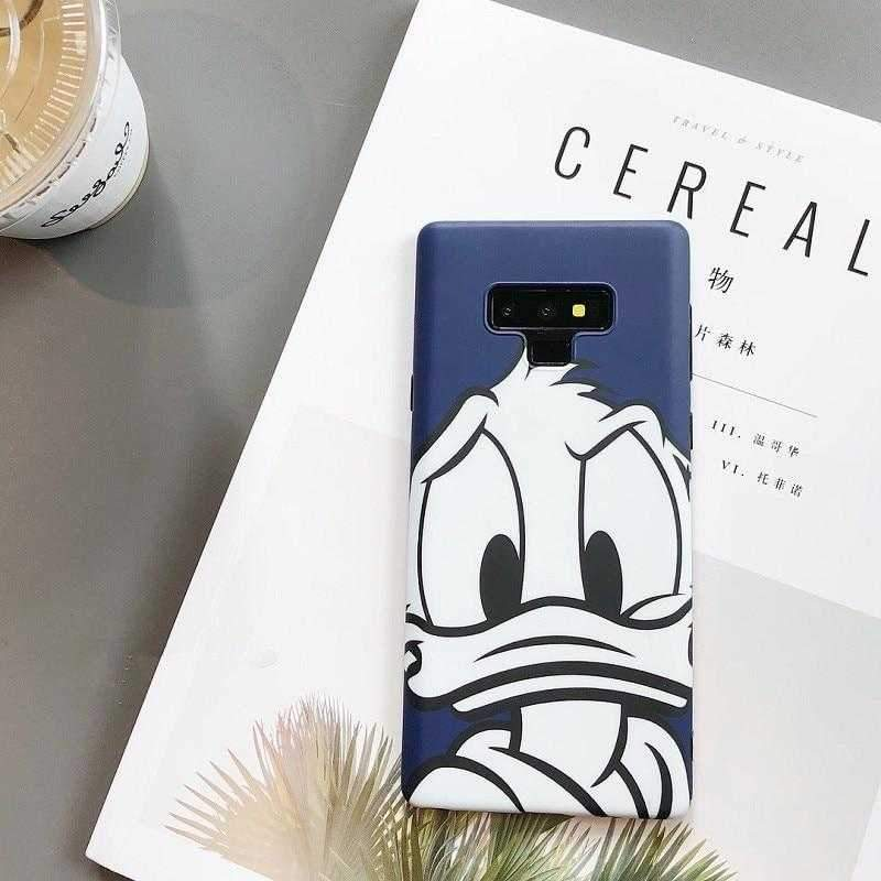 Goofy And Donald Case For Samsung Galaxy S8/S9/Note8/Note9 - Pink Panda