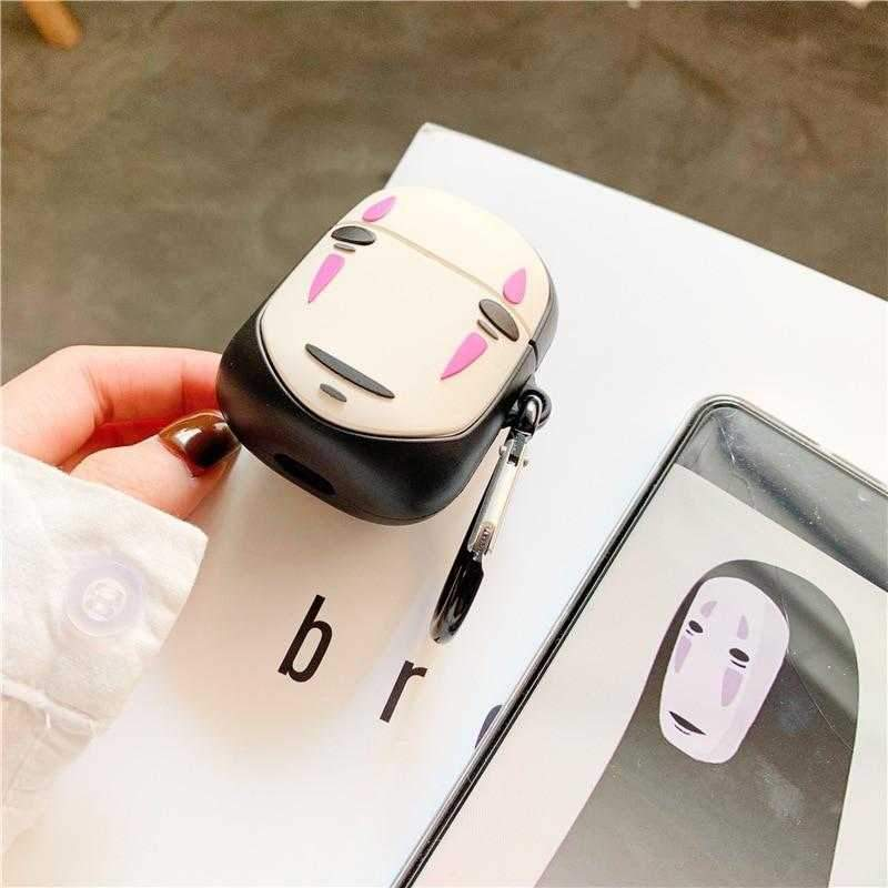 No Face Airpods Case 2 ( Limited Edition) - Pink Panda Store