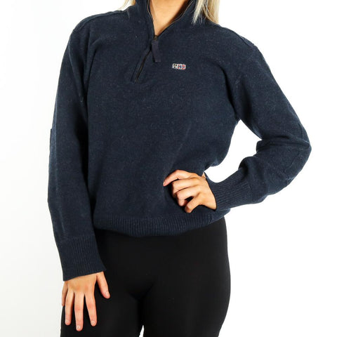 Napapijri Knitwear Sweatshirt in Navy