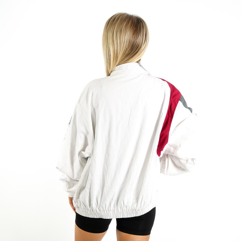 Pattern Track Jacket in Multicolour