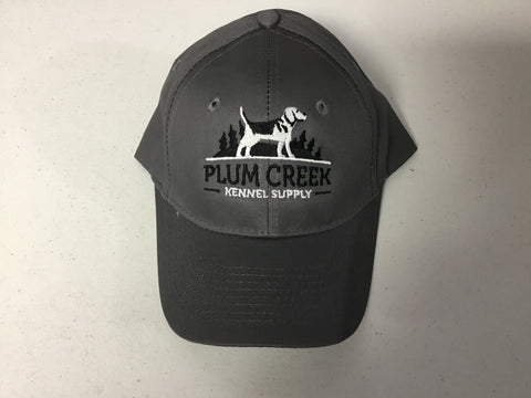 Plum Creek Kennel Supply Hat Grey
