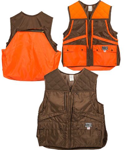 Dan's Game Vest for Small Game Hunters