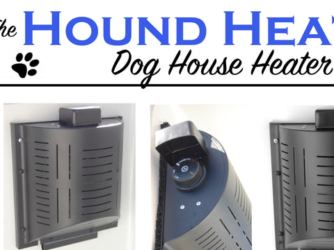 Hound Heater Deluxe Kennel Heater Dog House