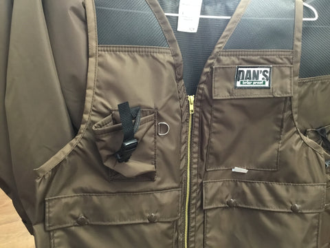 Dan's Dog Days Hunting Vest Front