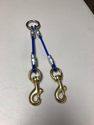 2 Dog cable coupler