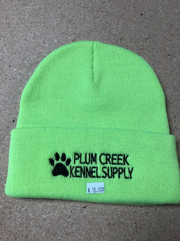 Plum Creek Kennel Supply Stocking Cap Green