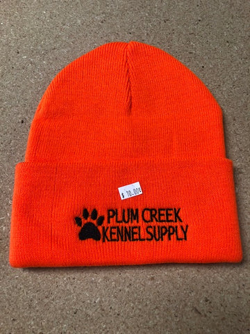 Plum Creek Kennel Supply Stocking Cap Orange