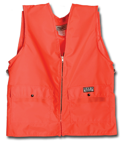 Dan's Kid's Orange Briar Proof Blaze Vest