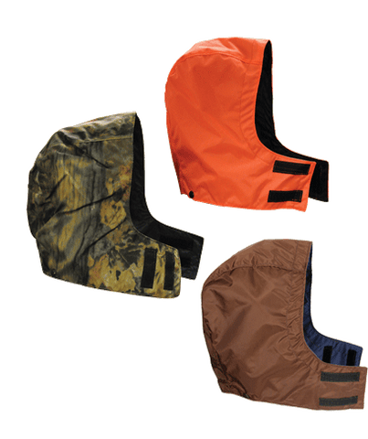 Dan's Detachable Waterproof Hoods Briarpoof Orange Brown Camo