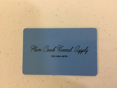 Plum Creek Gift Cards