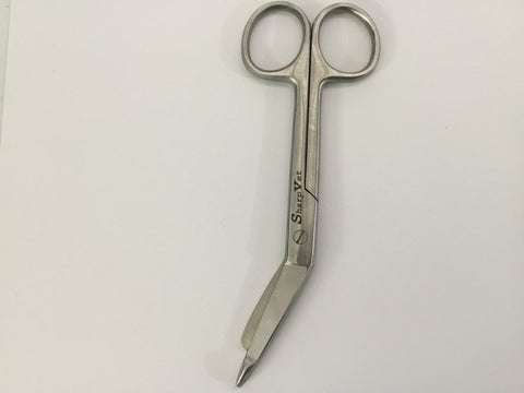 "5 1/2"" Lister Stainless Bandage Scissors"