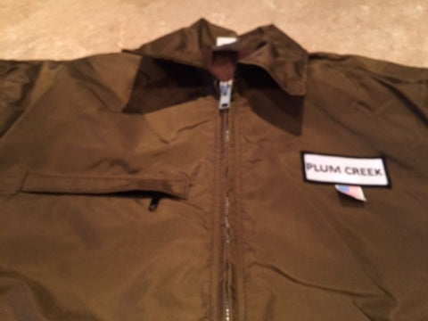 Plum Creek Briarproof Brown Hunting Coat Front