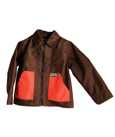 Dan's Kid's Brown & Orange Game Coat
