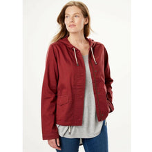 Woman Within Boxy Utility Casual Jacket, Maroon & Green, 16W 18W 20W 22W NEW $50