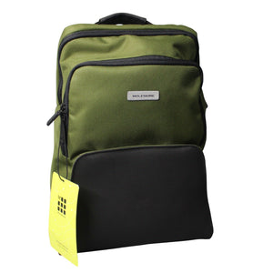 Moleskin Nomad Medium Backpack, City School Travel, Green / Black NEW