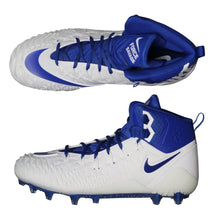Nike Force Savage Pro TD Cleats Football, White Royal, Size 14.5 NEW $100