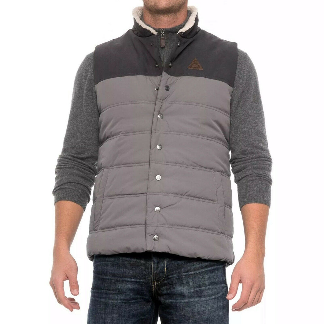 Avalanche Moss Canvas Vest Jacket (Medium)