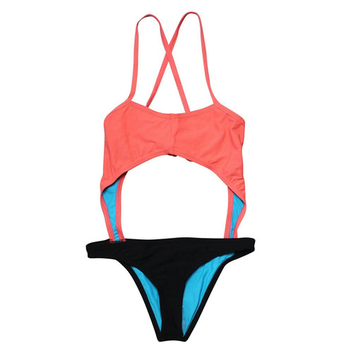 Speedo Turnz Hero Back One-Piece Swimsuit (30)