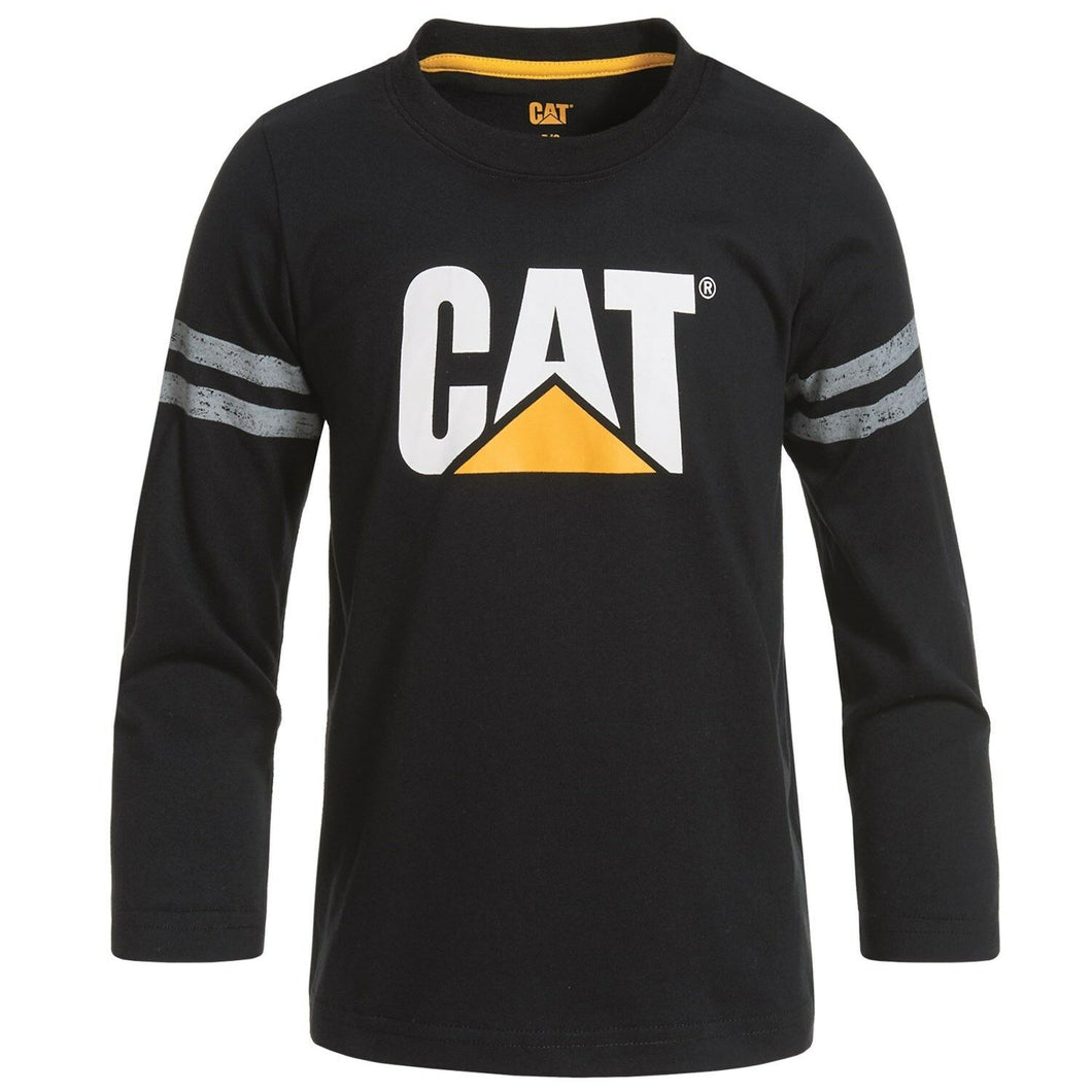 CAT Caterpillar Tractor Company Logo Infant T-Shirt - Long Sleeve (3M)