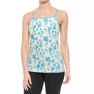 ExOfficio Give-N-Go Floral Printed Tank Top - Built-In Shelf Bra (Small)