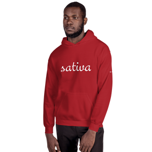 "Mens ""Sativa Leaf"" Hooded Sweatshirt"