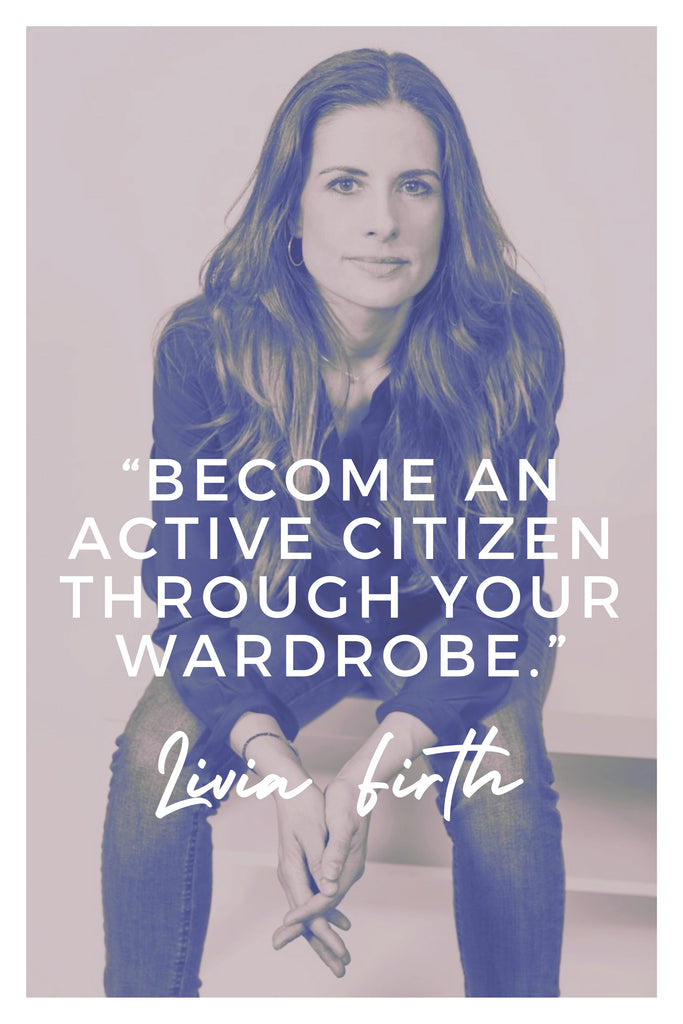 Livia Firth | The Inspirational Women Behind The Slow Fashion Quotes | Rare & Fair