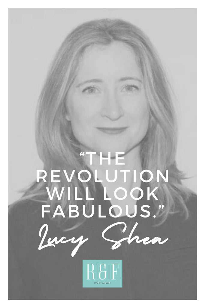 Lucy Shea | The Inspirational Women Behind The Slow Fashion Quotes | Rare & Fair
