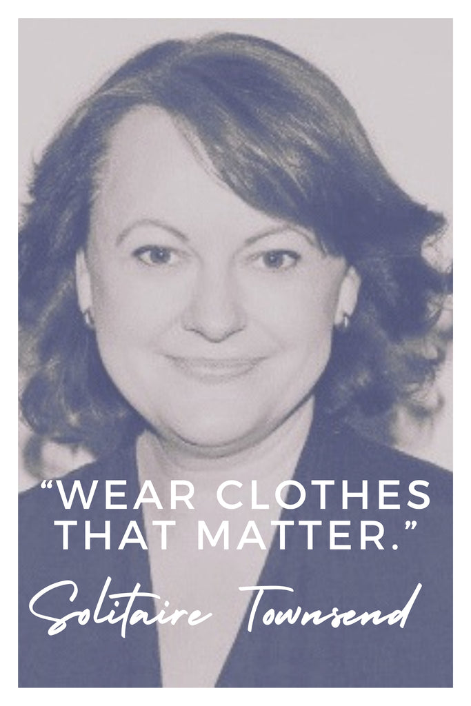 Solitaire Townsend  | The Inspirational Women Behind The Slow Fashion Quotes | Rare & Fair
