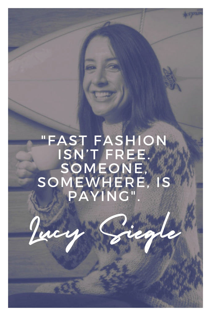 Lucy Siegle | The Inspirational Women Behind The Slow Fashion Quotes | Rare & Fair