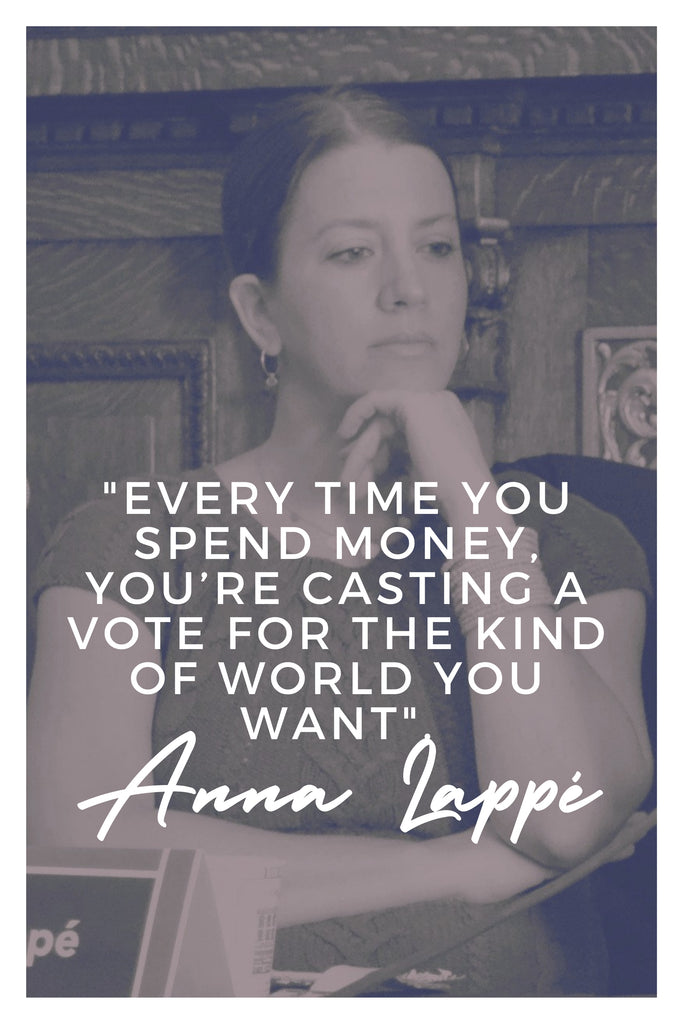 Anna Lappe | The Inspirational Women Behind The Slow Fashion Quotes | Rare & Fair