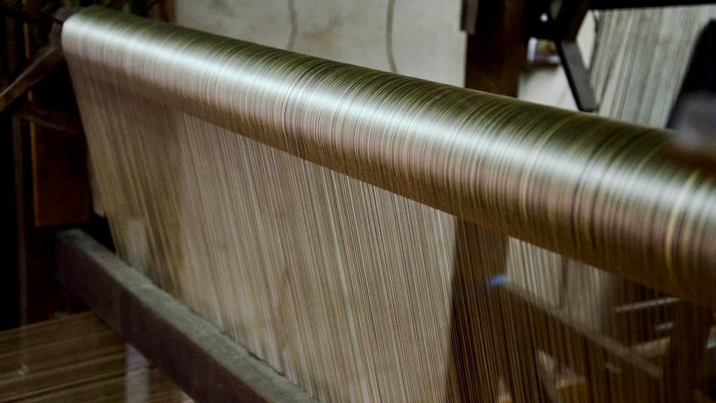 Pure Mulberry Silk on a traditional loom