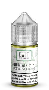 Kwit Salt Nic - Mountain Mint