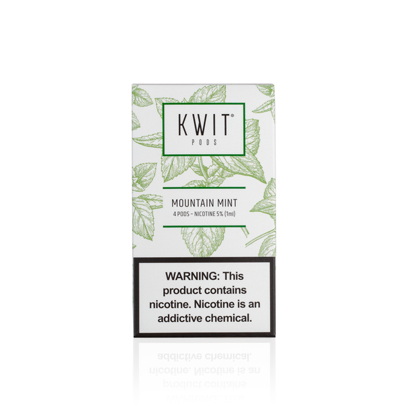 Kwit Pods - Mountain Mint (4-pack)