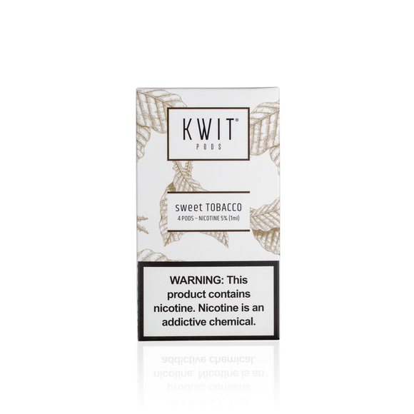Kwit Pods - Sweet Tobacco (4-pack)